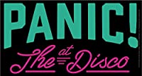 Licences Products Panic at the Disco Logo Sticker