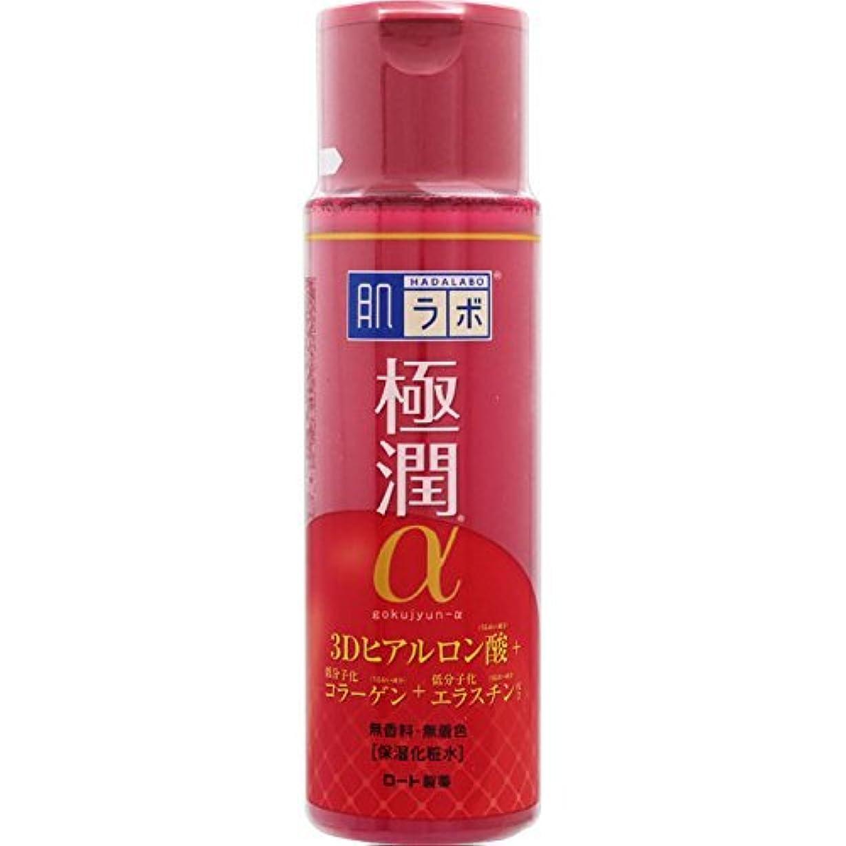 見せます剥離限られた肌ラボ 極潤α ハリ化粧水 3Dヒアルロン酸×低分子化コラーゲン×低分子化エラスチン配合 170ml