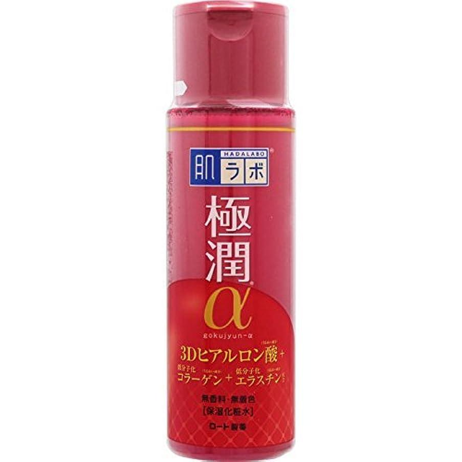 任命するラベル識別肌ラボ 極潤α ハリ化粧水 170mL