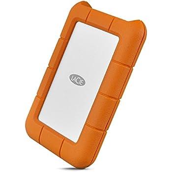 LaCie HDD ポータブルハードディスク Rugged Mini USB-C 2TB 2EUAP9 耐衝撃HDD STFR2000800