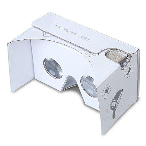 3D VR ゴーグル、TechRise 3Dメガネ 組み立て式 仮想現実 4...