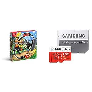 リングフィット アドベンチャー + Samsung microSDカード128GB  セット