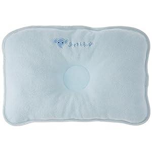 西川産業 babypuff ドーナツ枕(大) サックス 綿100% LMF1801303-S