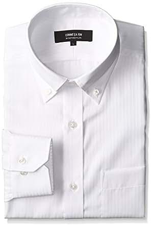 (コムサイズム)comme ca ism(コムサイズム) 長袖ワイシャツ 47-10HP04 01 ホワイト XL