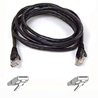 High Performance CAT6 UTP Patch Cable, 7 ft., Black (並行輸入品)