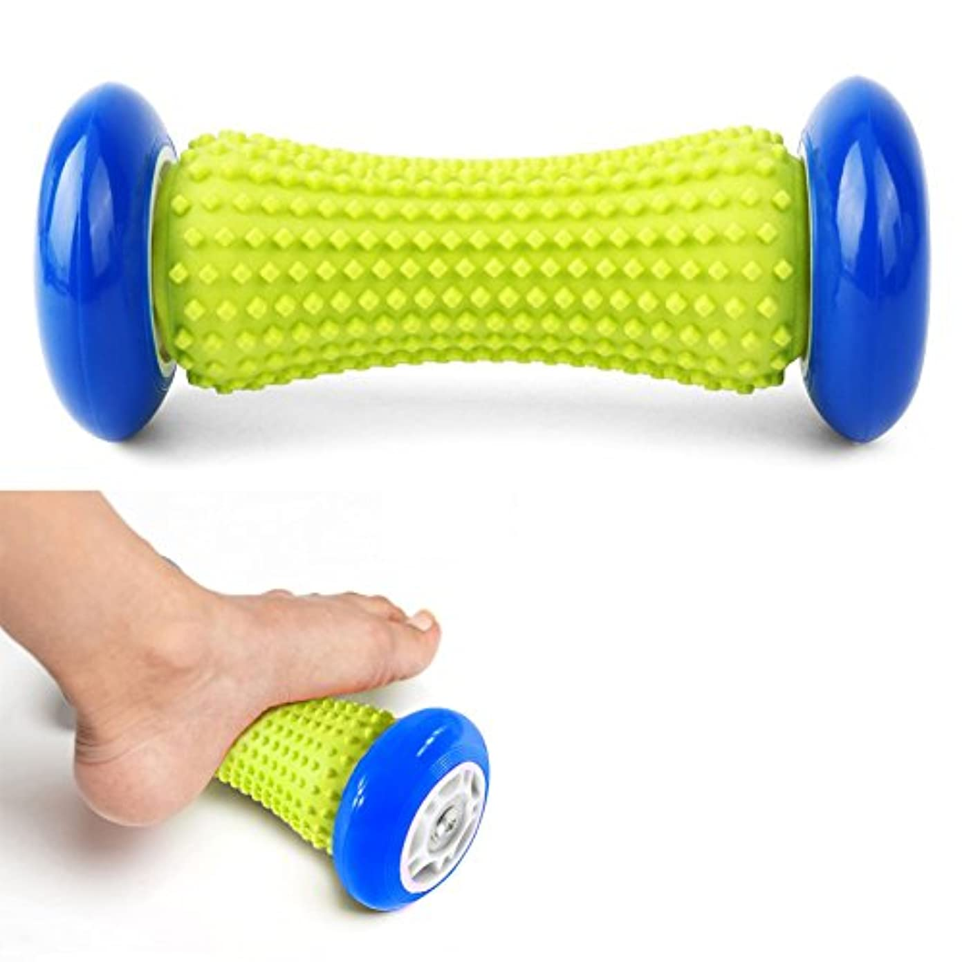 ヘビマニアック肘掛け椅子DOXUNGO 足と手のマッサージローラー - マッスルローラースティック - 手首と前腕足底筋膜炎、腕の痛み - かかと&足アーチ痛の救済のための運動ローラー (ブラック)