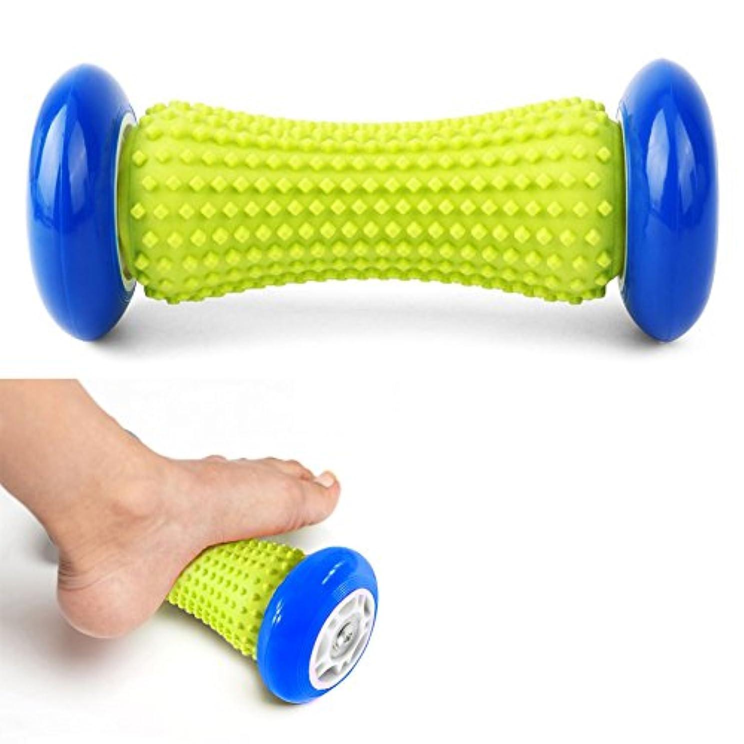 各光沢人工的なDOXUNGO 足と手のマッサージローラー - マッスルローラースティック - 手首と前腕足底筋膜炎、腕の痛み - かかと&足アーチ痛の救済のための運動ローラー (ブラック)