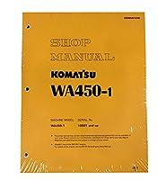 Komatsu wa450–1、wa450ホイールローダー–1lワークショップ修理サービスマニュアル–部品番号# sebda4210108