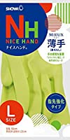 (まとめ買い)ショーワ ナイスハンドミュー薄手 Lサイズ グリーン 【×30セット】