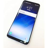 白ロム AU Galaxy S8 SCV36 コーラル ブルー