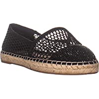 INC International Concepts I35 Corvina3 Espadrille Flats, Black Glitter