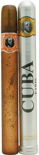 Cuba Eau de Toilette Spray for Men, Orange, 35ml, 34 Milliliter (5425017732143)