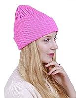 LOOVO ニット帽 キャップ 原宿系 緑 欧米風ストレートストライプ 二重層防寒カラー 秋冬 暖かい 帽子 おしゃれ 防寒対策 スキー ギフトに最適(PI)