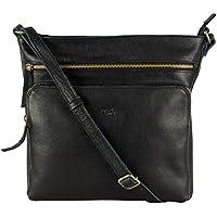 Mou Meraki Premium Genuine Leather Large Spacious Crossbody Purses and Handbags Women