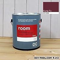 DCペイント かべ紙に塗る水性塗料 Room(室内壁用ペイント) 【0109】Kung Fu 約3.8L