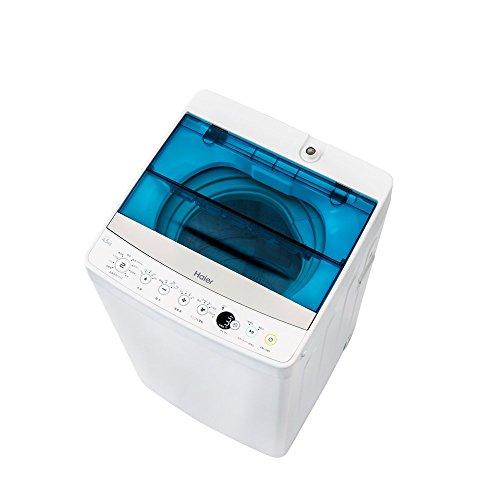 ハイアール 4.5kg 全自動洗濯機 ホワイトHaier J...