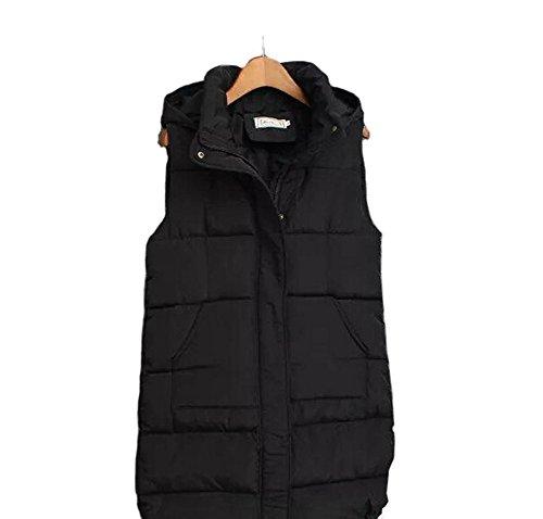 [해외](와이 보이 재팬) Wiboyjp 여성 다운 베스트 다운 베스트 라이트 다운 초경량 가을 겨울 아우터 롱 기장 후드/(Wai Boy Japan) Wiboyjp Women`s Down Vest Down Down Best Light Down Super light weight Autumn Winter Outer Long Length Hooded