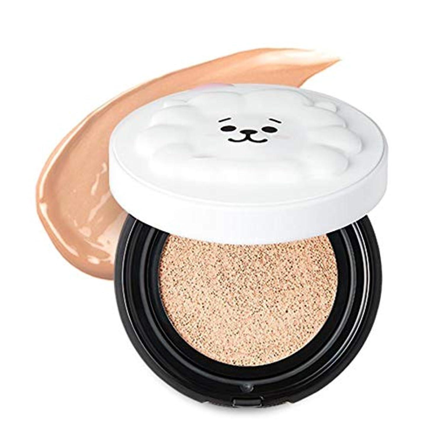 統合する知覚できるオーナーBT21 × VT Cosmetic リアルウェア カバー クッション / REAL WEAR COVER CUSHION (#21) [並行輸入品]