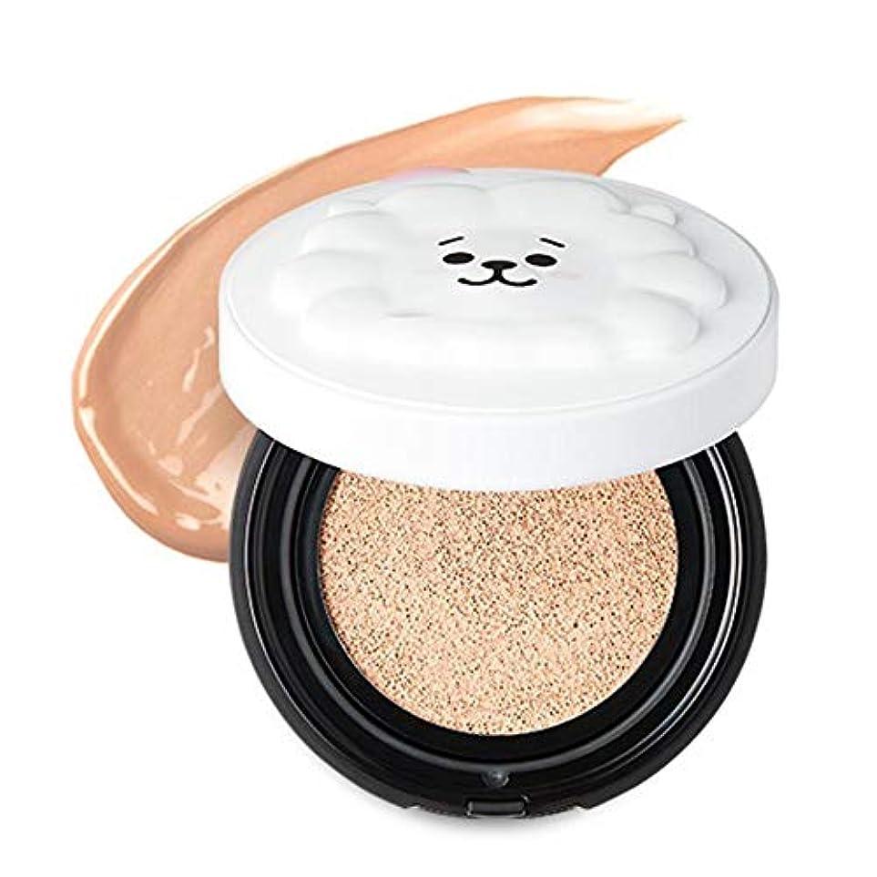 スクランブル提出する六月BT21 × VT Cosmetic リアルウェア カバー クッション / REAL WEAR COVER CUSHION (#21) [並行輸入品]
