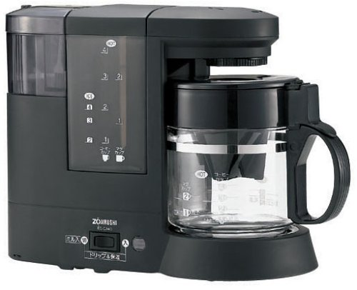 ZOJIRUSHI コーヒーメーカー 珈琲通 【カップ約1~4杯】 EC-CA40-BA