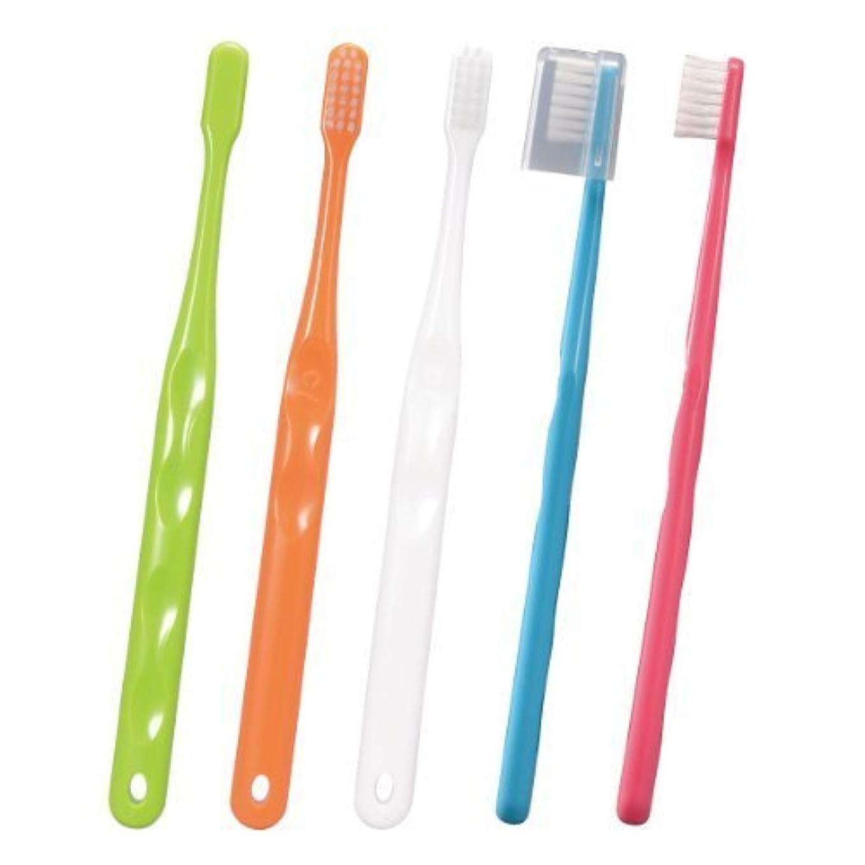 カバレッジ閃光香ばしいやわらかめ歯ブラシ703フラットS 0073(50ホン)キャップツキ