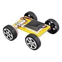子供 科学教育キット DIY太陽光発電 おもちゃ 車 組み立てる