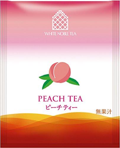 三井農林 ホワイトノーブル紅茶 ( アルミ・ティーバッグ ) ピーチ 2.2g×50個