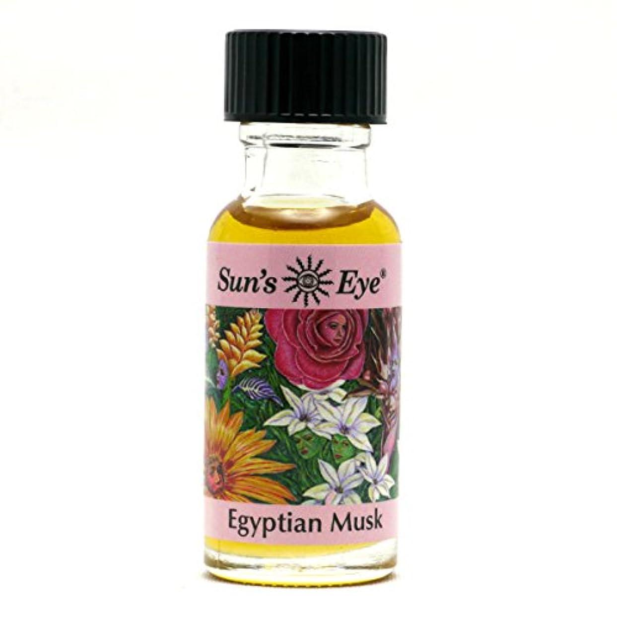 スズメバチペリスコープ部【Sun'sEye サンズアイ】Specialty Oils(スペシャリティオイル)Egyptian Musk(エジプシャンムスク)