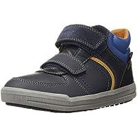 GEOX Kids' Arzach Boy 10 High Top Velcro Sneaker