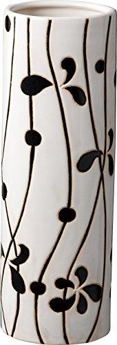 パール金属 陶器 傘立て リーフ 小 N-8077