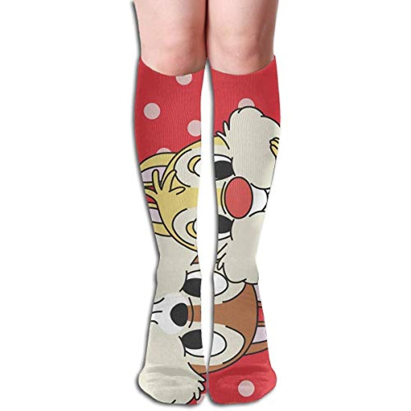 からかうアーチ処理するレディーススカルかわいい動物チューブストッキングレディース冬暖かい膝ハイソックスブーツ靴下