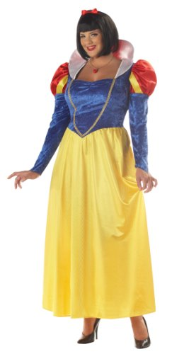 California Costume Collections CC01689-3X Snow White Adult Plus Costume Size 3X