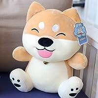 RYOUKOのホーム 柴犬ぬいぐるみ 忠犬もちしばの癒し系 抱き枕 ふわふわ マスコット 贈り物におススメ 35cm 子供 大人 誕生日お祝い