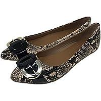Offline Women's Sweet Pea Ballerina Shoes with Buckle
