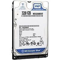 WESTERN DIGITAL 2.5インチ内蔵HDD Serial-ATA 5400rpm 320GB 8MB WD3200BEVT