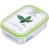 岩崎工業 保存容器 エアキーパーフードケースS グリーン 600ml A-030 SG【60個セット】 4901126003035