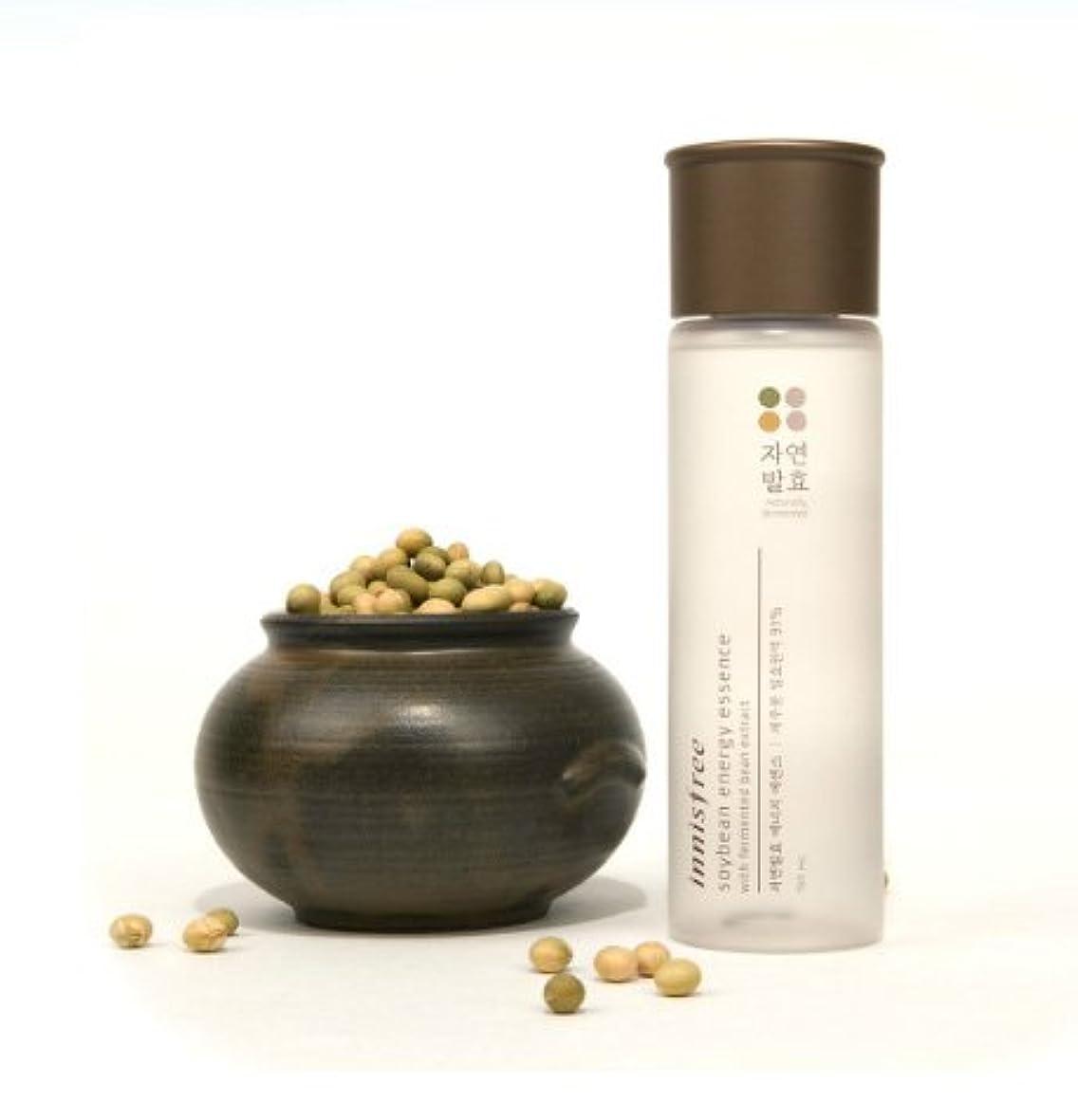 検出器プレゼンテーション公平な(Innisfree イニスフリー) Soybean energy essence 自然発酵 エナジー エッセンス 美容液 肌のバリア機能を強化し、健やかでパワーあふれる肌へ導くトータルケアブースター美容液