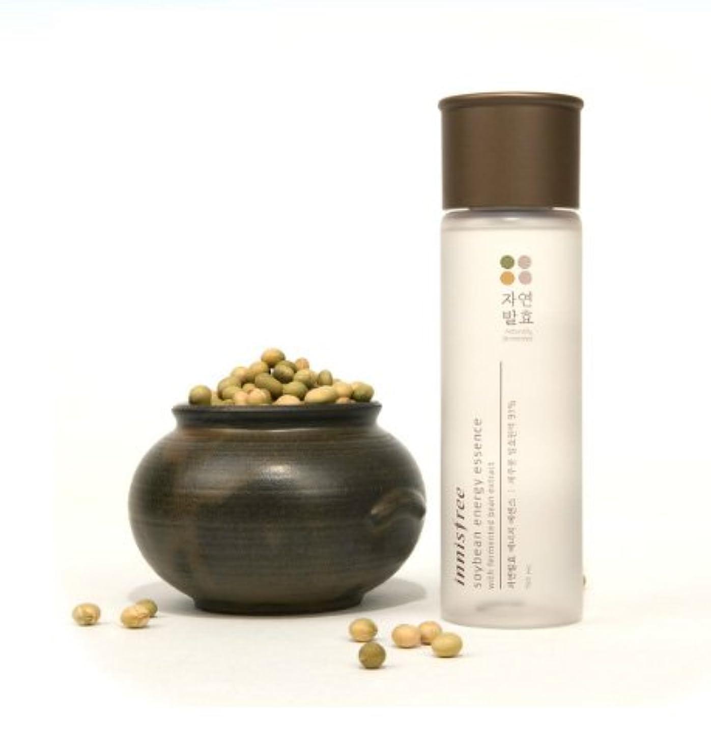 (Innisfree イニスフリー) Soybean energy essence 自然発酵 エナジー エッセンス 美容液 肌のバリア機能を強化し、健やかでパワーあふれる肌へ導くトータルケアブースター美容液
