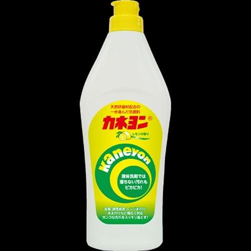 露骨な標準のり【まとめ買い】カネヨ石鹸 カネヨンレモン 550g ×2セット