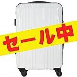 (ラッキーパンダ) Luckypanda スーツケース 機内持ち込み 超軽量 TSAロック アウトレット TY001 キャリーバッグ キャリーケース かわいい キャリーバック ファスナー ハード バッグ バック 旅行かばん Suitcase Luggage amazon (S, ホワイト)