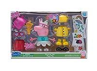 Peppa Pig Talking Dress up Peppa Deluxe Figure Pack [並行輸入品]