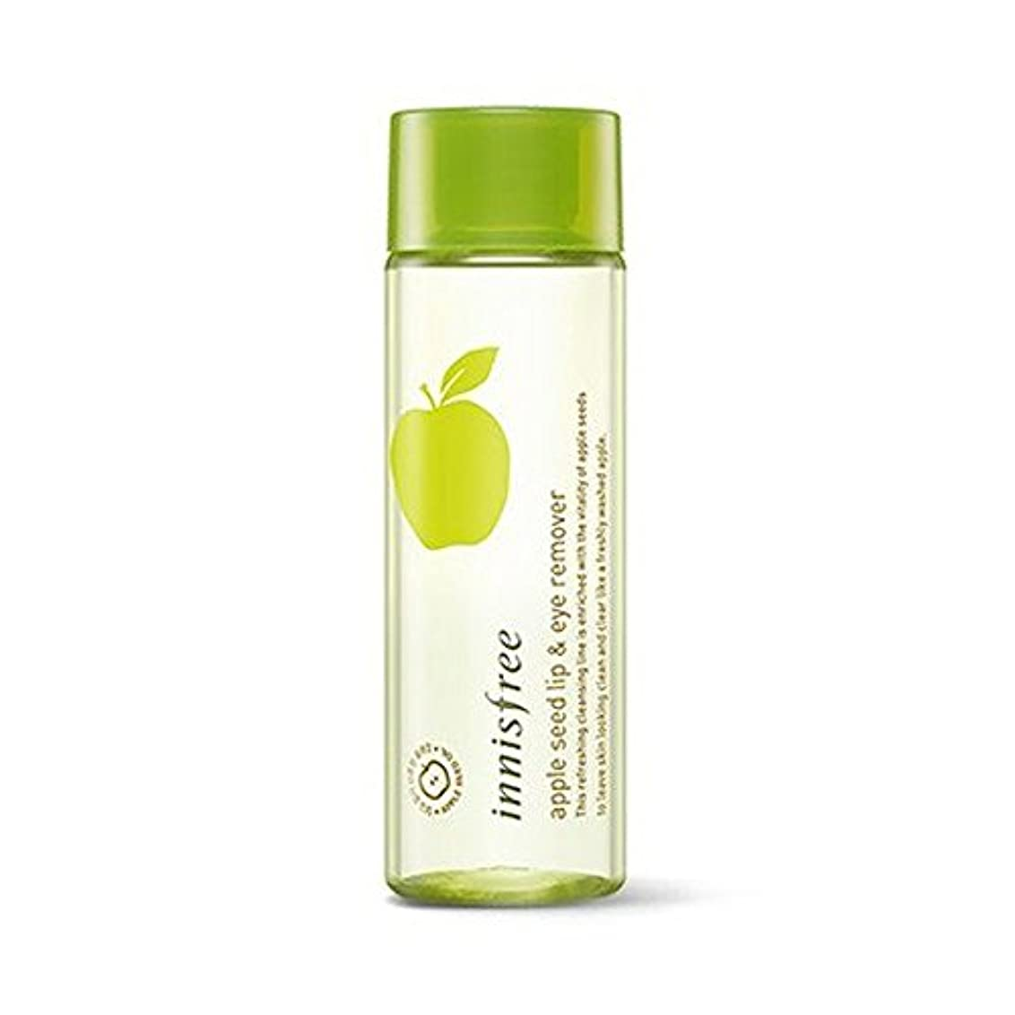 ボウル潜む不健全(6 Pack) INNISFREE Apple Seed Lip & Eye Remover 100 ml (並行輸入品)