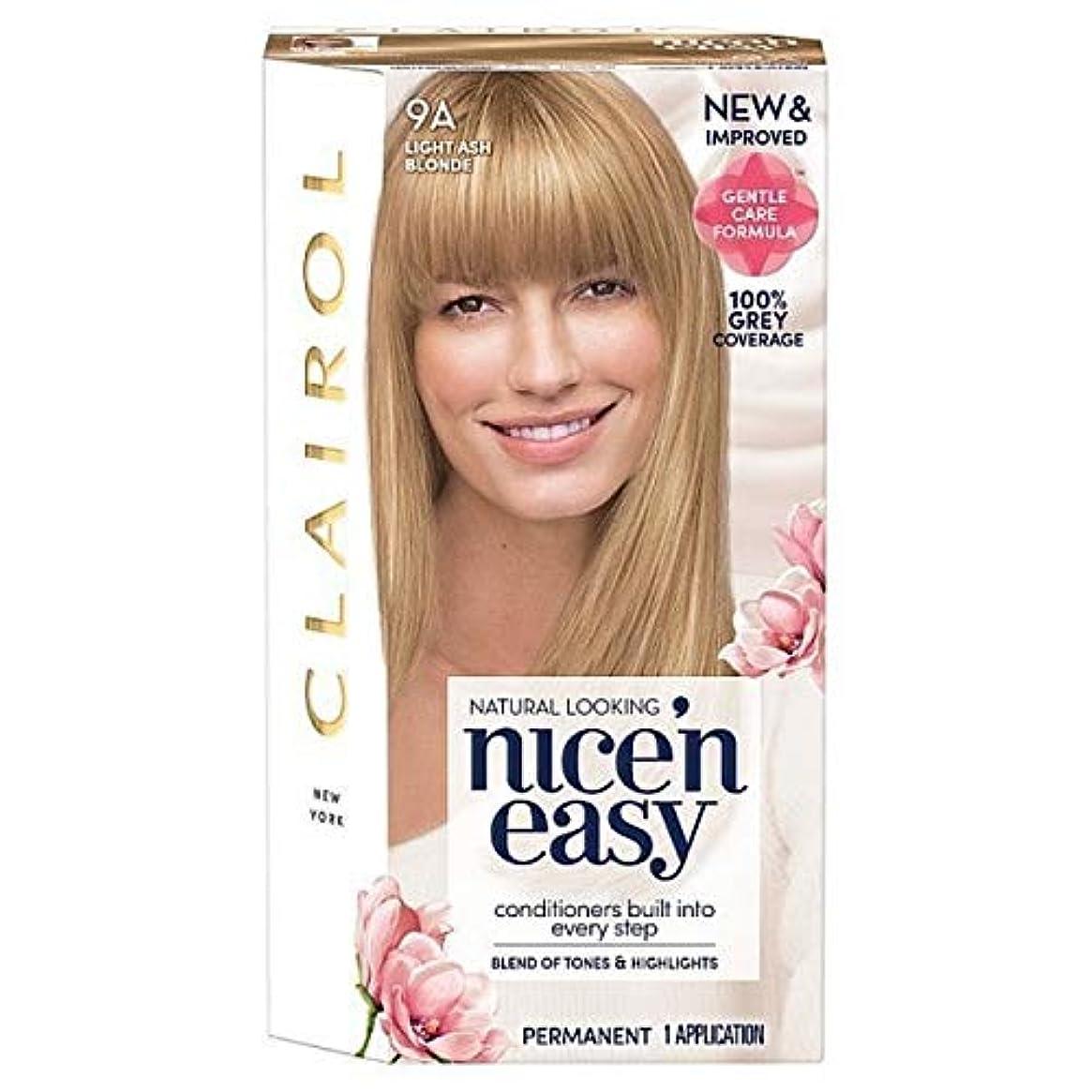 ご近所平らにする野球[Nice'n Easy] Nice'N簡単9Aの光アッシュブロンド - Nice'n Easy 9A Light Ash Blonde [並行輸入品]