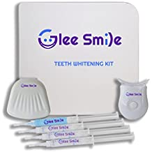 Advanced Teeth Whitening Kit by Glee Smile   6% Hydrogen Peroxide   Easy to Use & Fast Results   At Home Use Best Teeth Whitening Kit