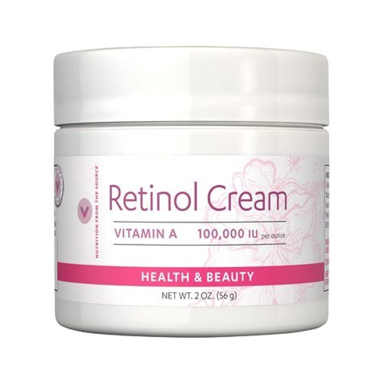 触手順応性付き添い人Vitamin World ビタミンワールド レチノールクリーム56g(2oz)[並行輸入品]