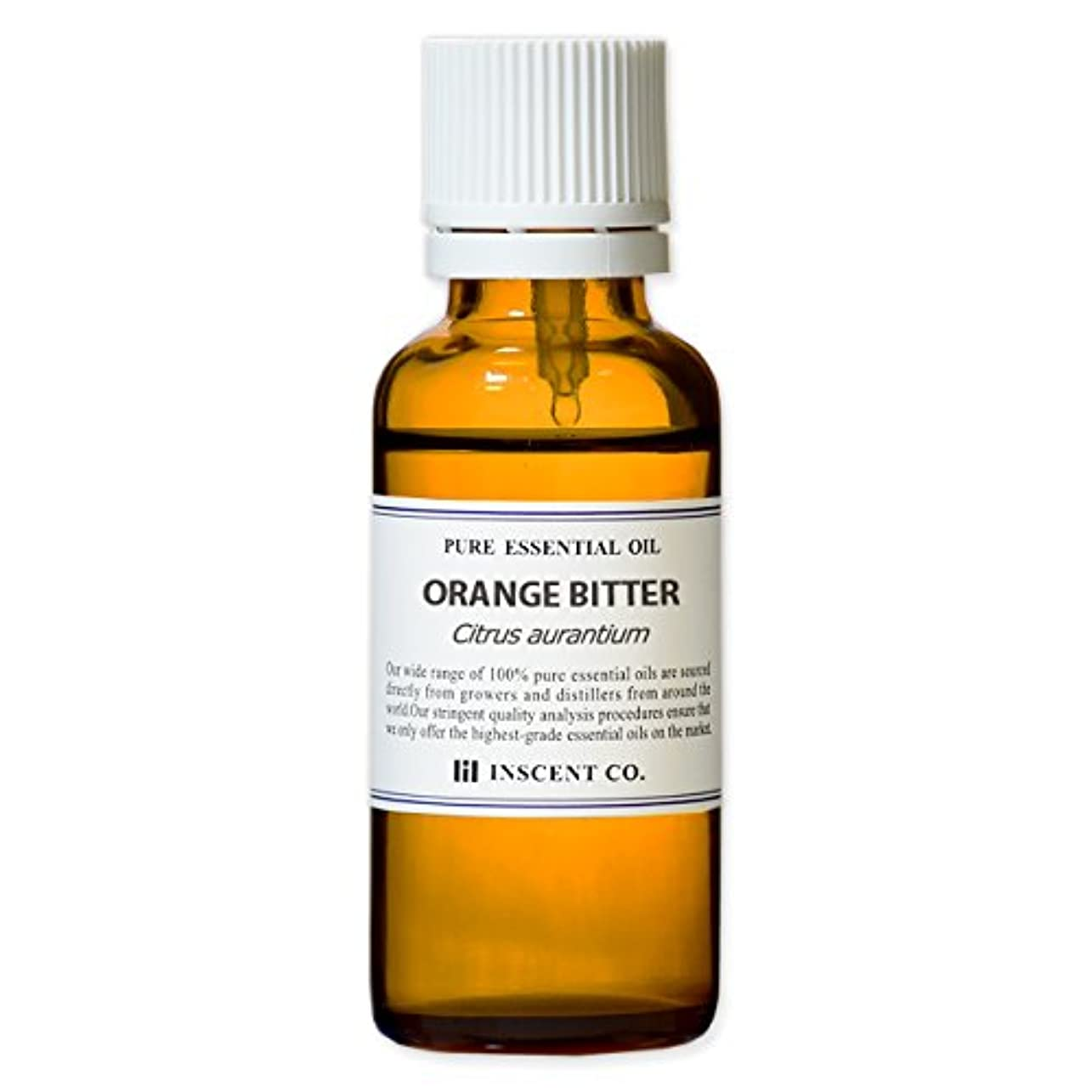 オレンジビター 30ml インセント アロマオイル AEAJ 表示基準適合認定精油