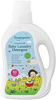 Happyganics Natural & Safe Baby Laundry Detergent Liquid (Sensitive Skin Unscen
