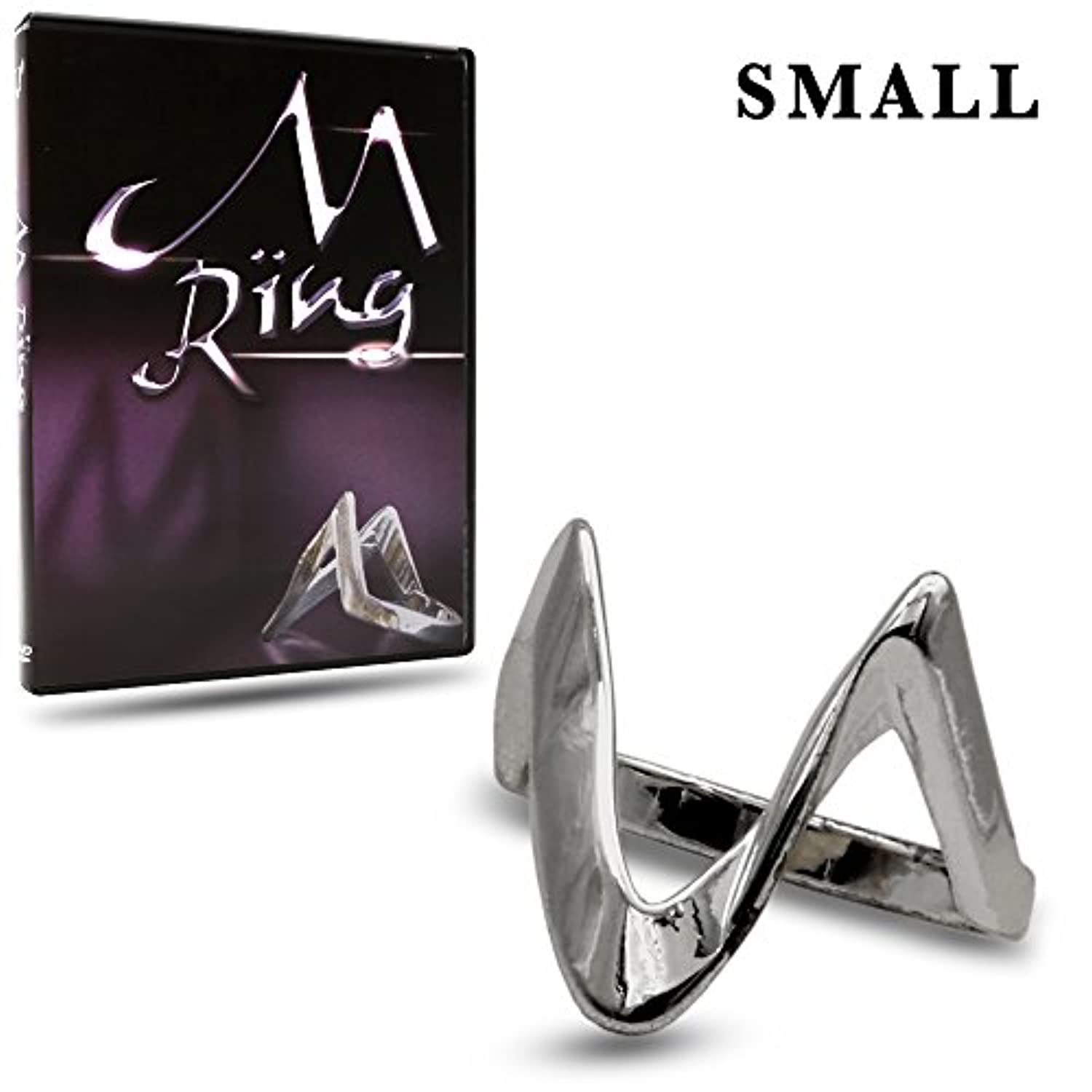 Magic Makers M Ring - Small Size (8 or 18.1 mm) - The Ultimate Hold Out Device