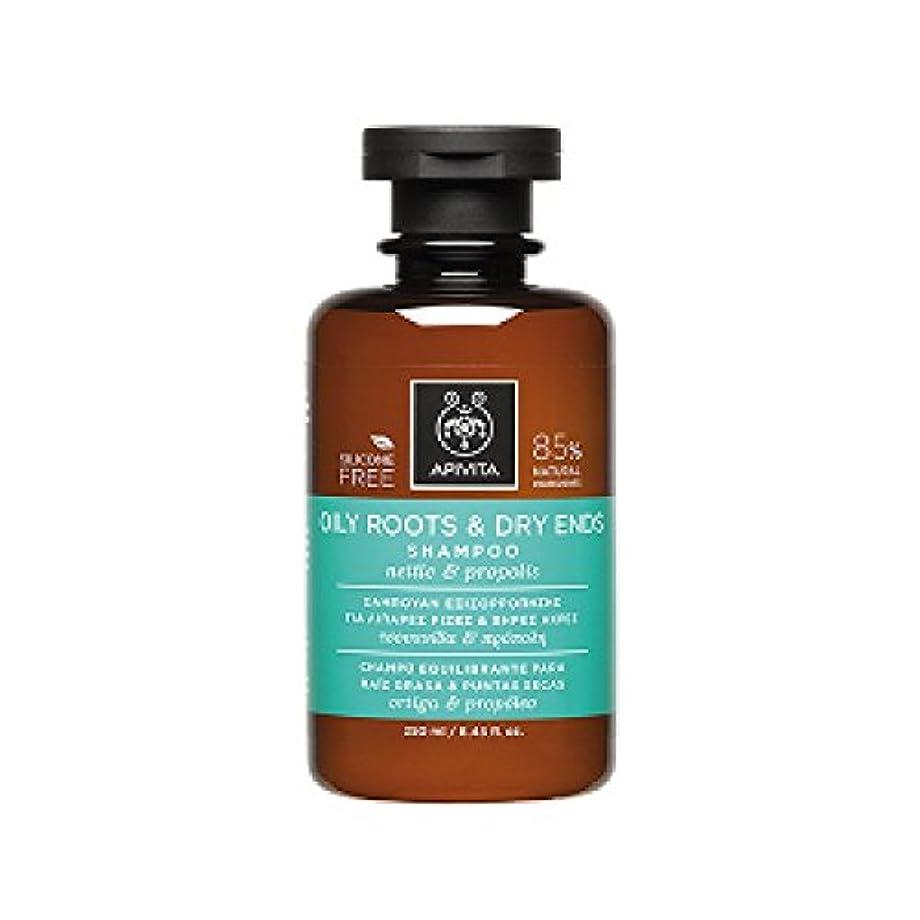 男やもめホステルピットアピヴィータ Oily Roots & Dry Ends Shampoo with Nettle & Propolis (For Hair with Oily Roots and Dry Ends) 250ml [並行輸入品]