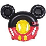 ミッキマウス ベビー?幼児用 浮わ輪 ベビーフロート 足入れ式 子供用浮き輪 水泳補助具 水遊び プール (Color : Red)